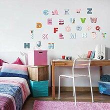 Englisch Buchstaben Wandaufkleber Für Kinder