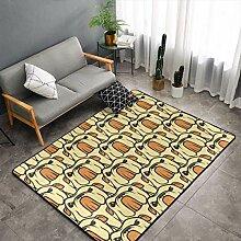 Englisch Bulldog Küche Teppich Schlafzimmer