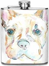 Englisch Bulldogge Hund Kunstdruck Im Freien