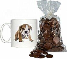 Englisch Bulldogge Welpe Bild Design 170 g