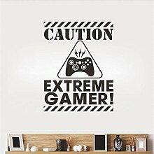 Englisch Spiel Extreme Gamer Aufkleber