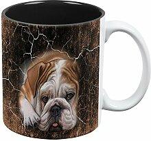 Englische Bulldogge Live Forever aller