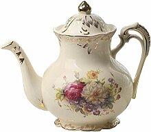 Englische Porzellantasse Blühende Sträucher Bild