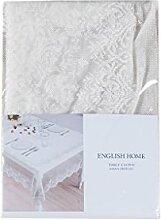 English Home 10004281004 Damasque Table Cloth
