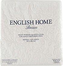 English Home Leaves Decke Decksatz, Polyester,
