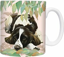 English Springer Spaniel - Springtime - Mugs - Becher - Chopes