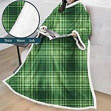 Enhome Decke mit Ärmel, 3D Gitter Geometrisch