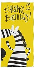 Enhusk Nettes Zebra Baby Kunst lustiges weiches