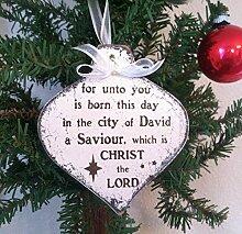 Enid18Bru Weihnachten Ornament Luke für Euch ist