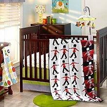EnjoyBridal® Baumwolle Babydecke/ Erstlingsdecke/