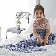 EnjoyBridal® Kinder Meerjungfrau Decke