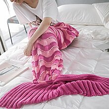 EnjoyBridal® Meerjungfrau Decke Weihnachts