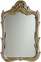 Enki BM0081070x 700Glas gerahmt Design Vintage Spiegel Badezimmer Wand–Antik Gold
