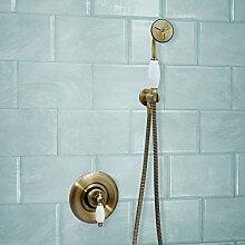 ENKI Bronzefarben Duscharmatur Thermostat