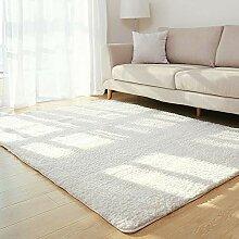 Enkoo Kunstpelzteppich weicher flauschiger Teppich