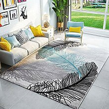 Enkoo Vintage Teppich Teppich Feder Bonita