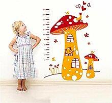 Entfernen Pilz Höhe Aufkleber Cartoon Kinder