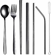 Enticerowts 8-teiliges Geschirr-Set aus