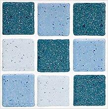 Enticerowts Selbstklebende Mosaik-Fliesenaufkleber