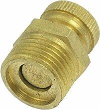 Entwaesserungsventil - SODIAL(R) 13mm Entwaesserungsventil golden