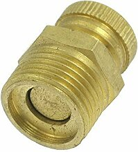 Entwaesserungsventil - TOOGOO(R) 13mm Entwaesserungsventil golden