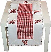 entzückende Tischdecke 40x140 cm WEIHNACHTEN