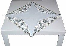 entzückende Tischdecke 40x40 cm eckig PLAUENER