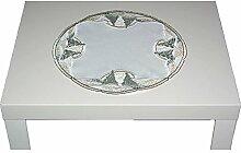 entzückende Tischdecke rund 34 cm PLAUENER