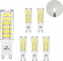 ENUOTEK Hohe Helligkeit G9 LED Kleine Leuchtmittel