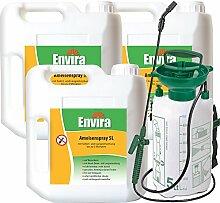 ENVIRA Ameisen Schutzmittel 3x5Ltr+5Ltr Sprüher
