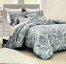 ENVOGUE Bettbezug-Set, Queen-Size-Bett, luxuriös,
