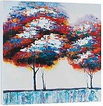 Enweonga Baum Pflanzen Handgemaltes Ölgemälde