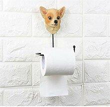 ENXING Hund toilettenpapierhalter selbstklebende
