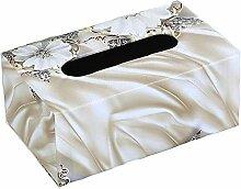 ENXING Kosmetiktücher-Box Rechteckige Tissue Box