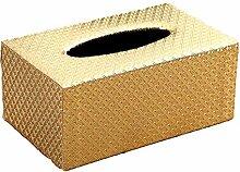 ENXING Kosmetiktücher-Box Rechteckiger Tissue Box