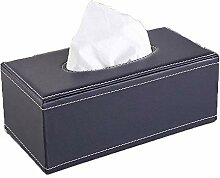 ENXING PU Leder Kosmetiktücherbox/Tissue-Box