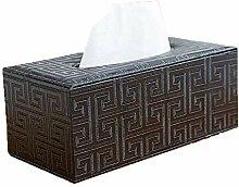 ENXING Rechteckiger Taschentuchbox/Tissue-Box aus