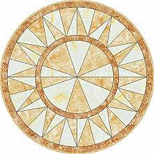 Enzhe Teppich, rund, hochwertig, klassisch, rund,
