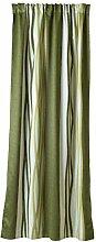 enzo enrico Vorhang, Stoff, grün