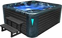 EO-SPA Aussenwhirlpool IN-590 premium CloudyBlack