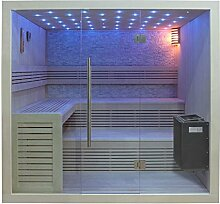 EO-SPA Sauna B1102A Pappelholz/220x200/9kW EOS