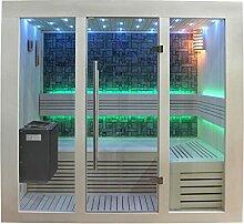 EO-SPA Sauna B1216A Pappelholz 200x120 9kW EOS