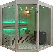 EO-SPA Sauna B1219B helle Pinie/140x140/9kW EOS