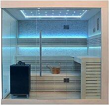 EO-SPA Sauna B1246A Pappelholz 220x180 9kW EOS BiO-Max