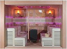 EO-SPA Sauna B1400D rote Zeder 300x200 12kW