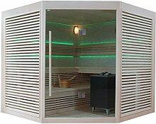 EO-SPA Sauna B1403A Pappelholz/220x220/9kW EOS