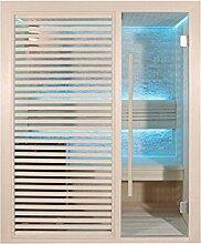 EO-SPA Sauna B1410C Pappelholz 120x105 3kW EOS BiO-Mini