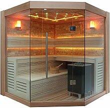 EO-SPA Sauna B1415A rote Zeder/220x220/9kW EOS