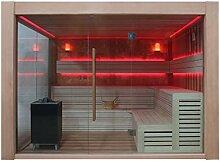 EO-SPA Sauna B1416A rote Zeder/300x300/12kW EOS