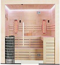 EO-SPA Sauna E1202A-IR Pappelholz/267x198/9kW
